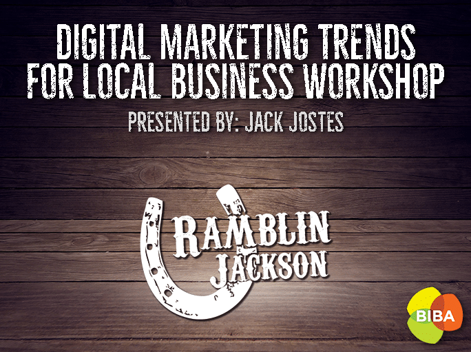BIBA Digital Marketing Trends for Local Business Workshop [event]