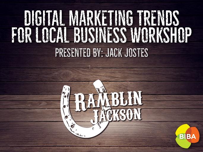 BIBA Digital Marketing Trends for Local Business Workshop [event]