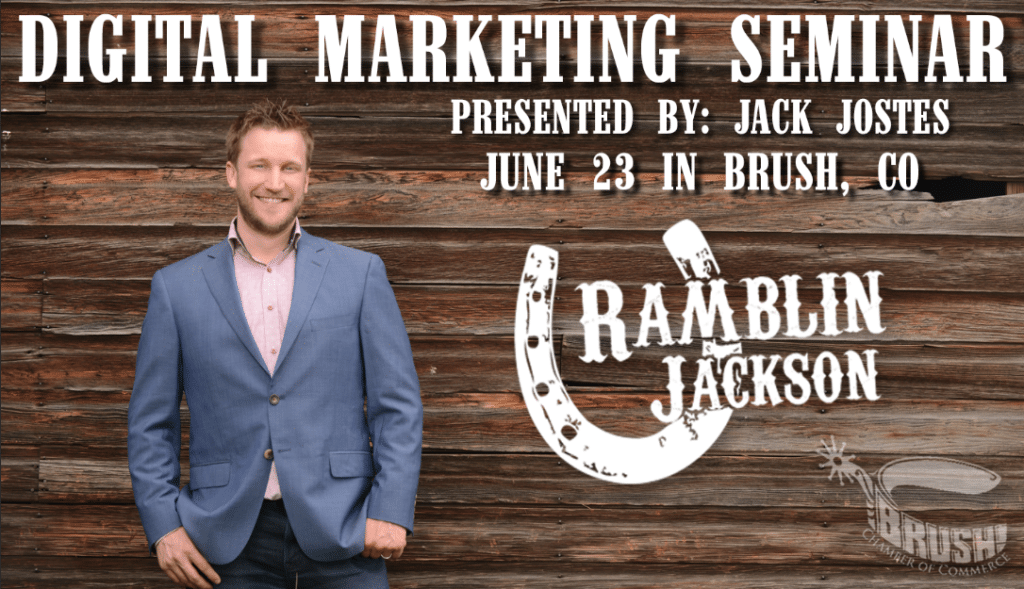 Digital Marketing Seminar with Brush Chamber of Commerce [event]