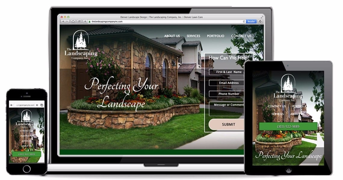 The-Landscaping-Company-Inc-Responsive Web Design Portfolio Image