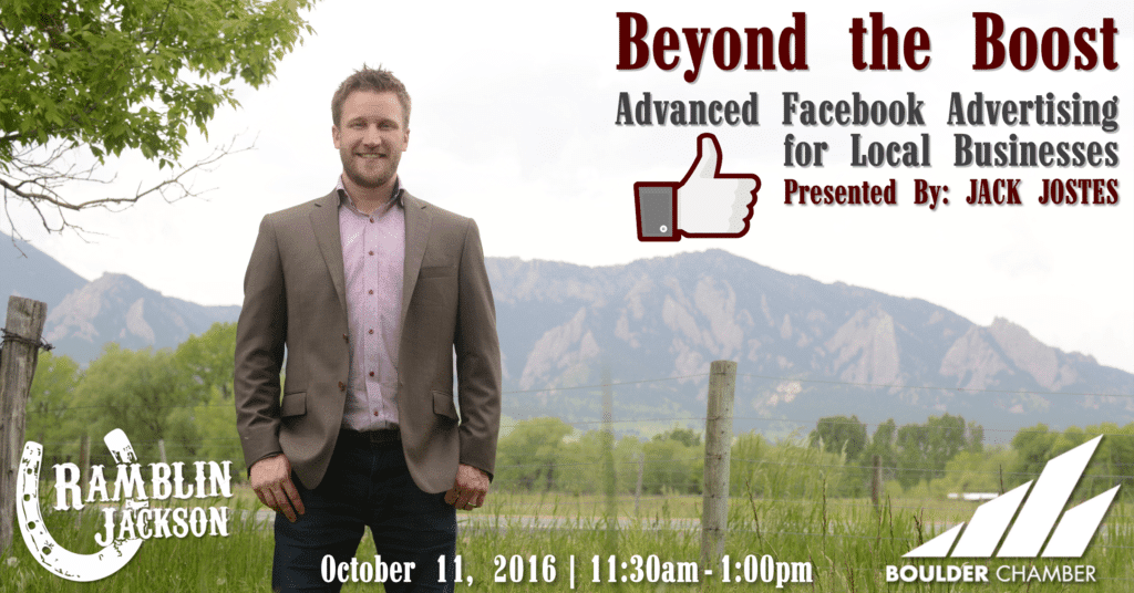 Beyond the Boost: Advanced Facebook Advertising for Local Businesses [event]