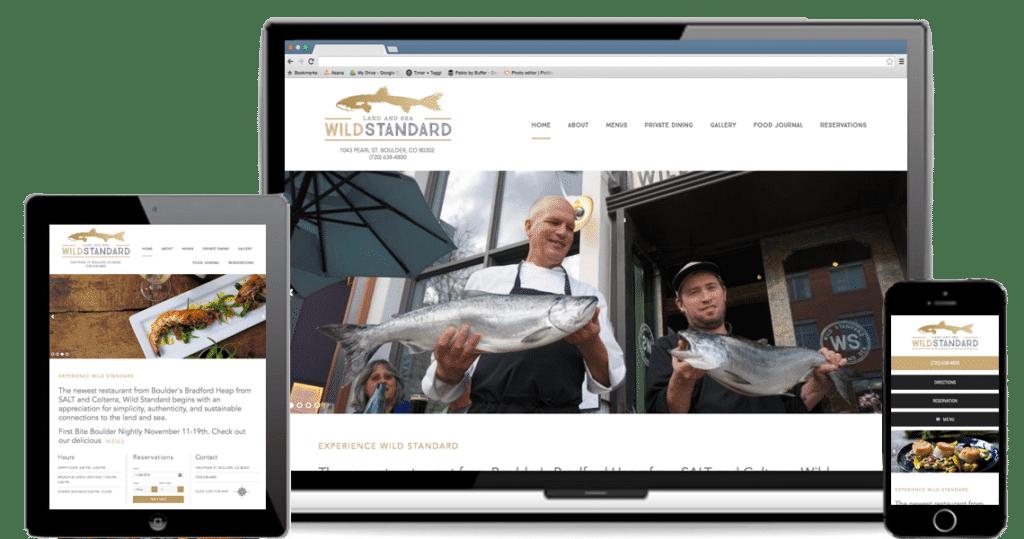 Wild Standard: Responsive WordPress Website