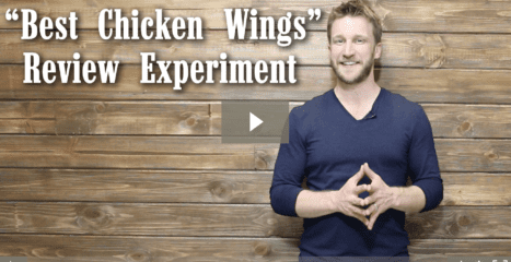 "The ""Best Chicken Wings"" Review Experiment!"