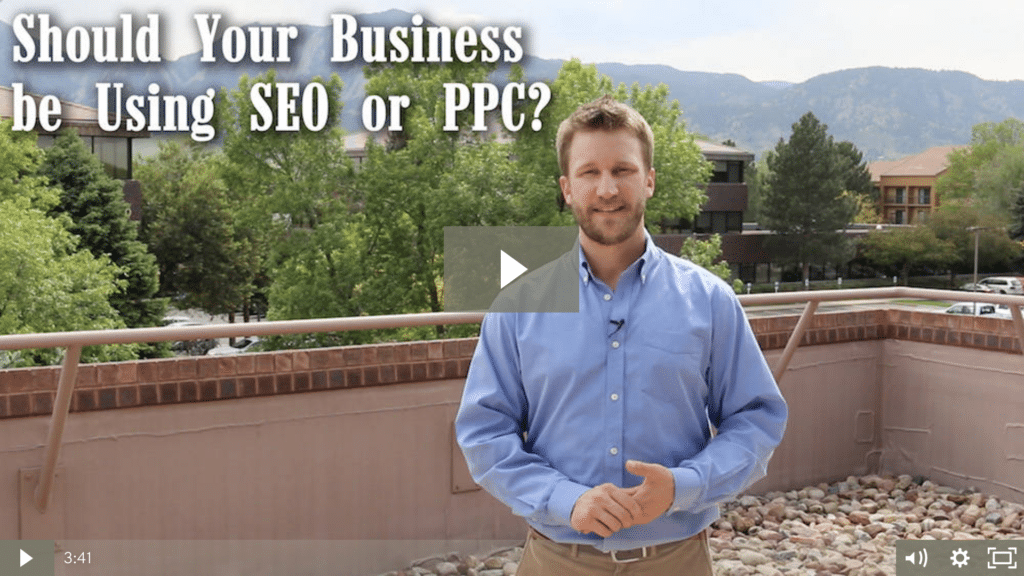 Should Your Business be Using SEO or PPC? [video]