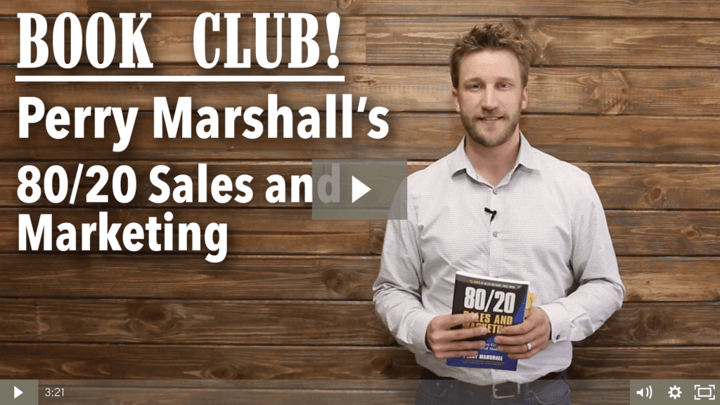 Book Review: 80/20 Sales & Marketing by Perry Marshall
