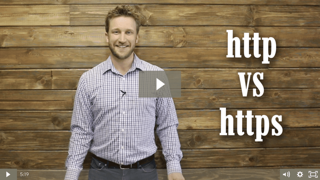 HTTP vs. HTTPS – Does An SSL Certificate Help Local SEO Rankings? [video]