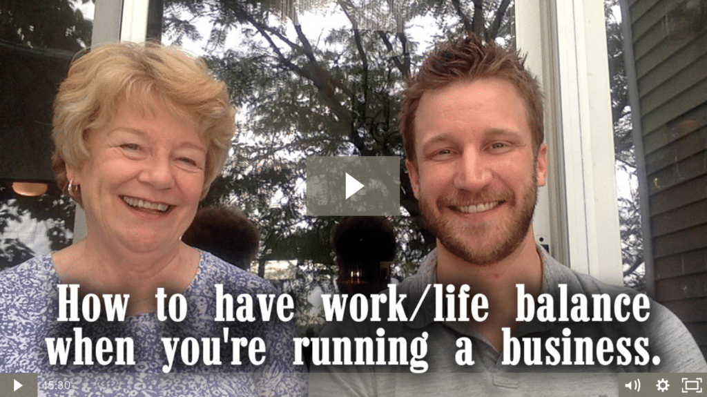 How to Have Work/Life Balance When You're Running a Business [video]