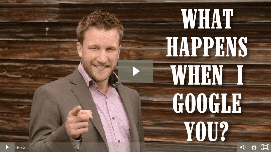 What Happens When I Google You [video]