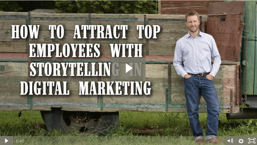 How To Attract Top Employees With Storytelling In Digital Marketing [video]
