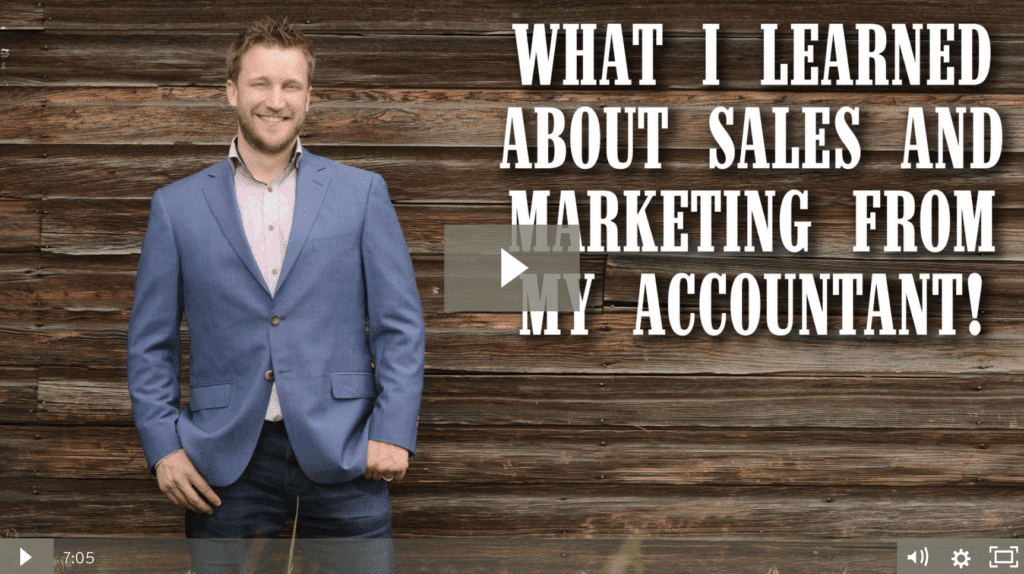 What I Learned About Sales and Marketing From My Accountant [video]