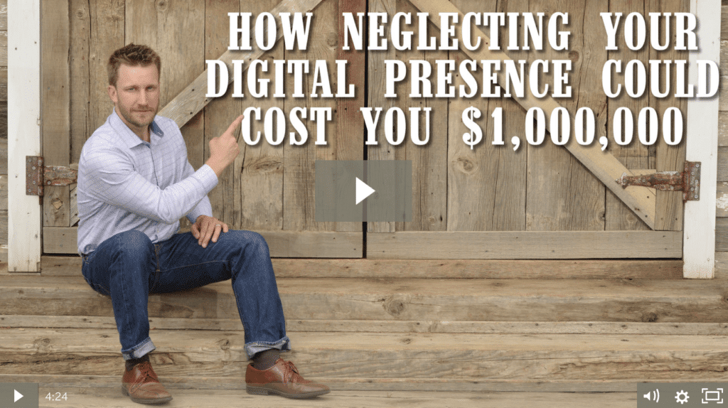 How Neglecting Your Digital Presence Could Cost You $1,000,000 [Video]