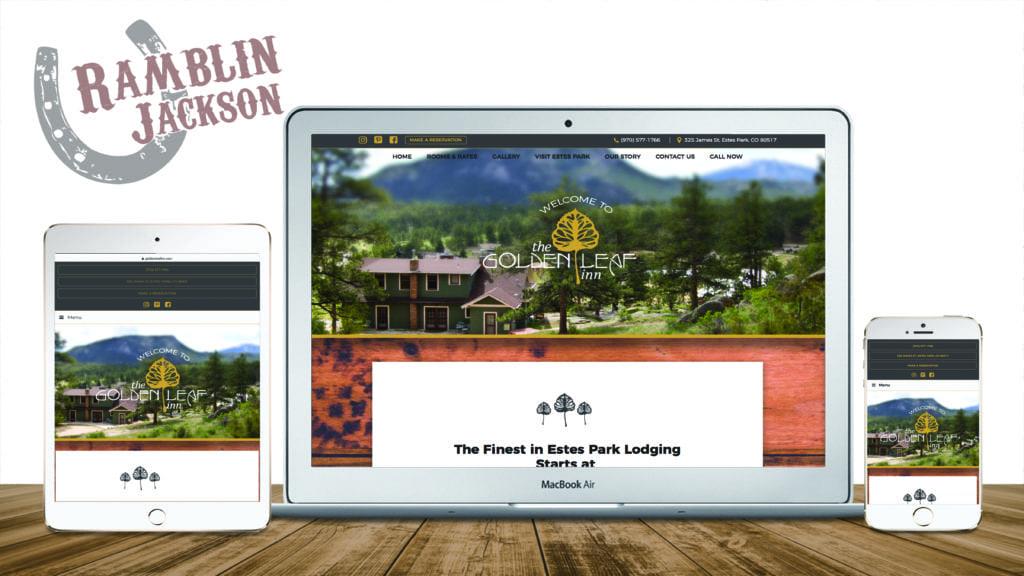 The Golden Leaf Inn: Responsive WordPress Website Design
