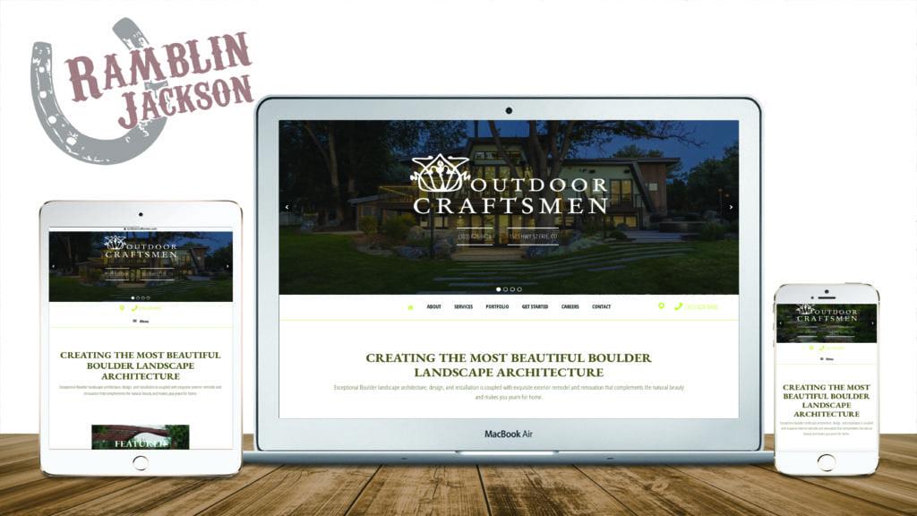 Outdoor Craftsmen: Responsive WordPress Website Design
