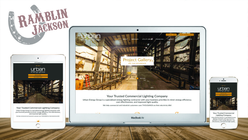 Urban Energy Group: Responsive WordPress Website Design