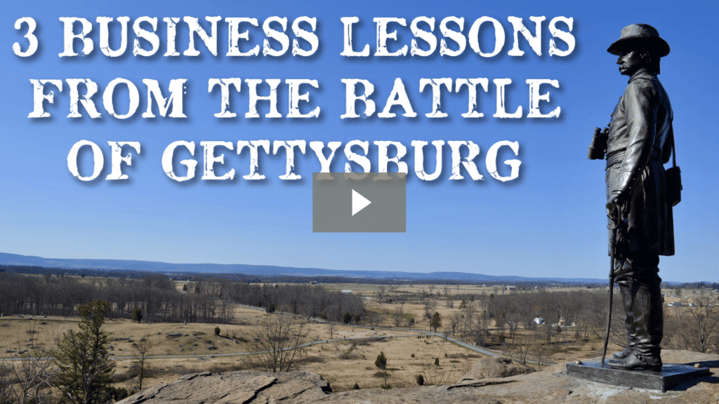 Three Business Lessons From The Battle of Gettysburg [video]