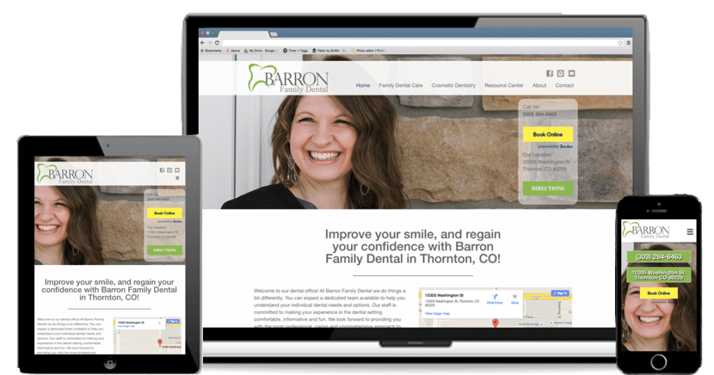 Get new patients with Custom Dental Website Design from Ramblin Jackson!