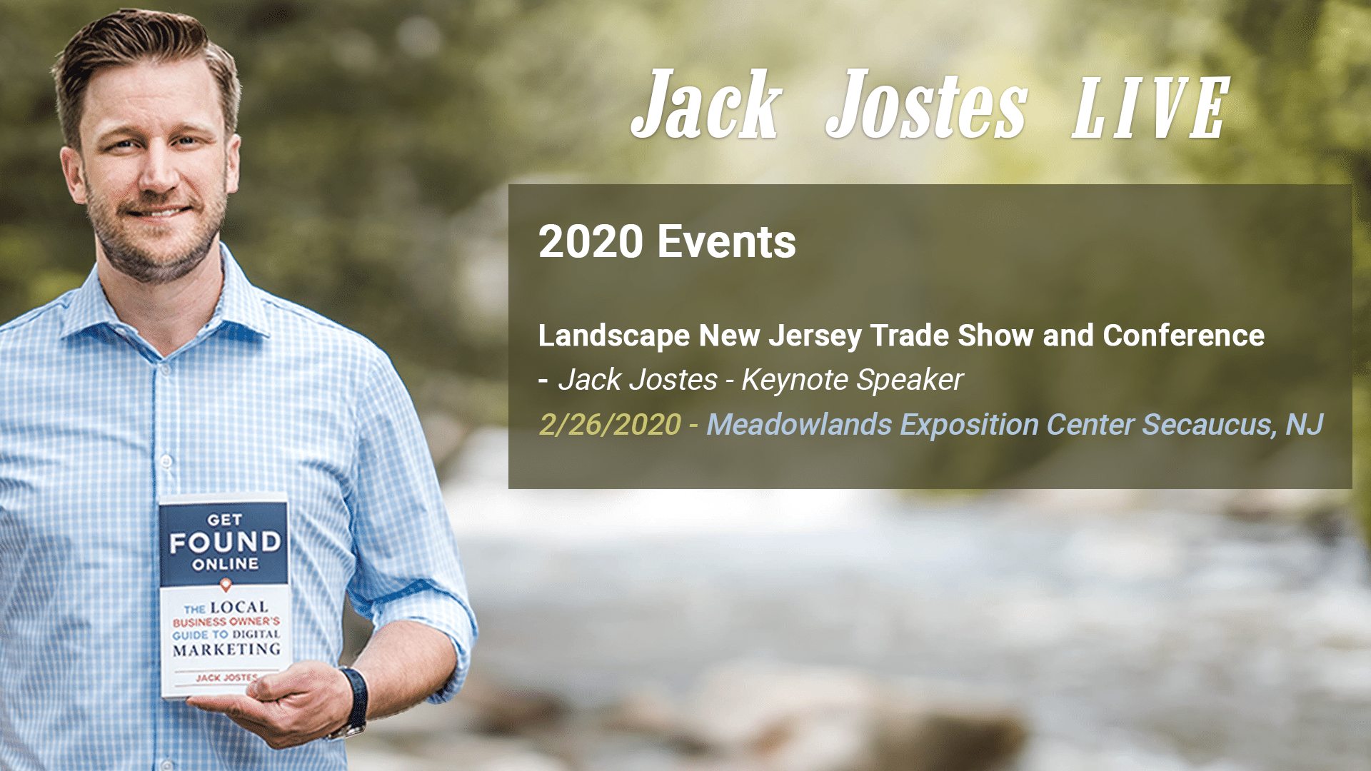 2019-12 Jack Jostes Speaking LIVE