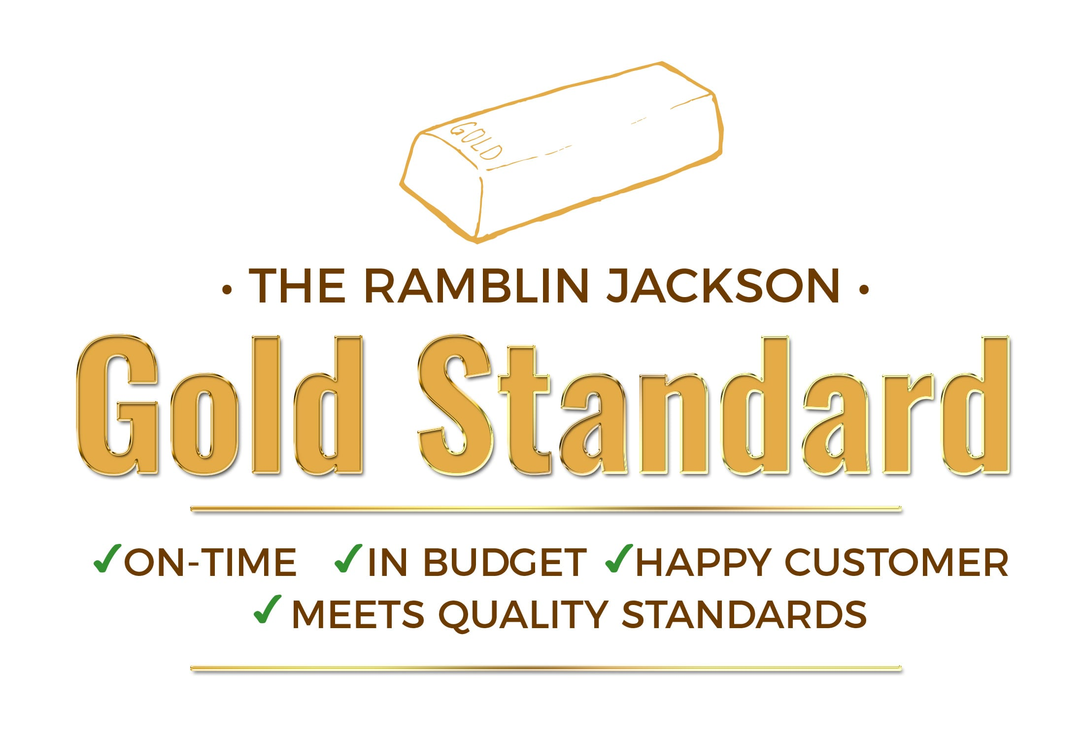 The Ramblin Jackson Gold Standard