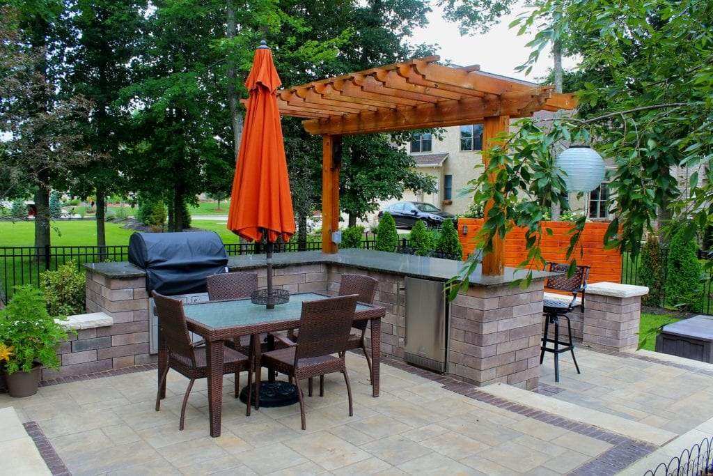 7 - Pickerington, OH - Columbus, OH - Outdoor Living Space, Landscape Design, Outdoor Kitchen 27