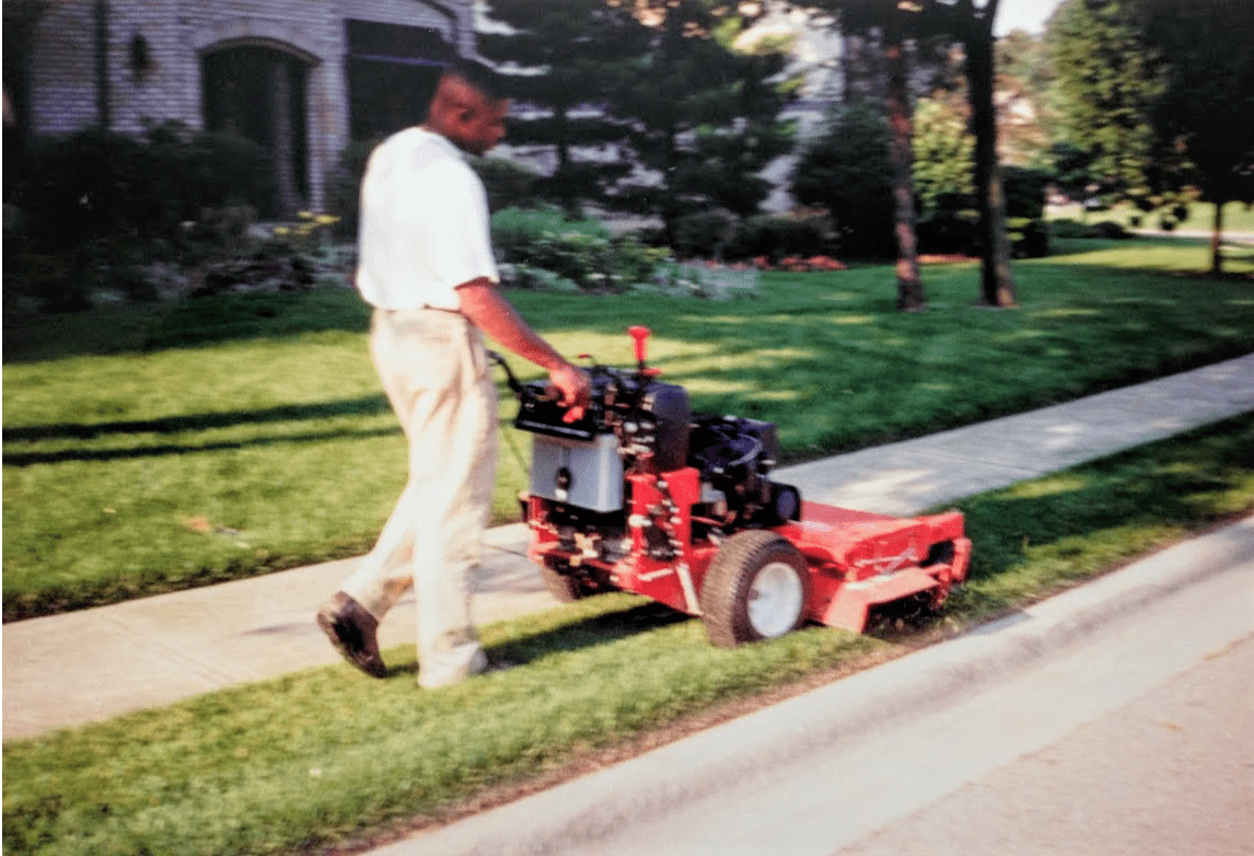 Duane Cutting Grass
