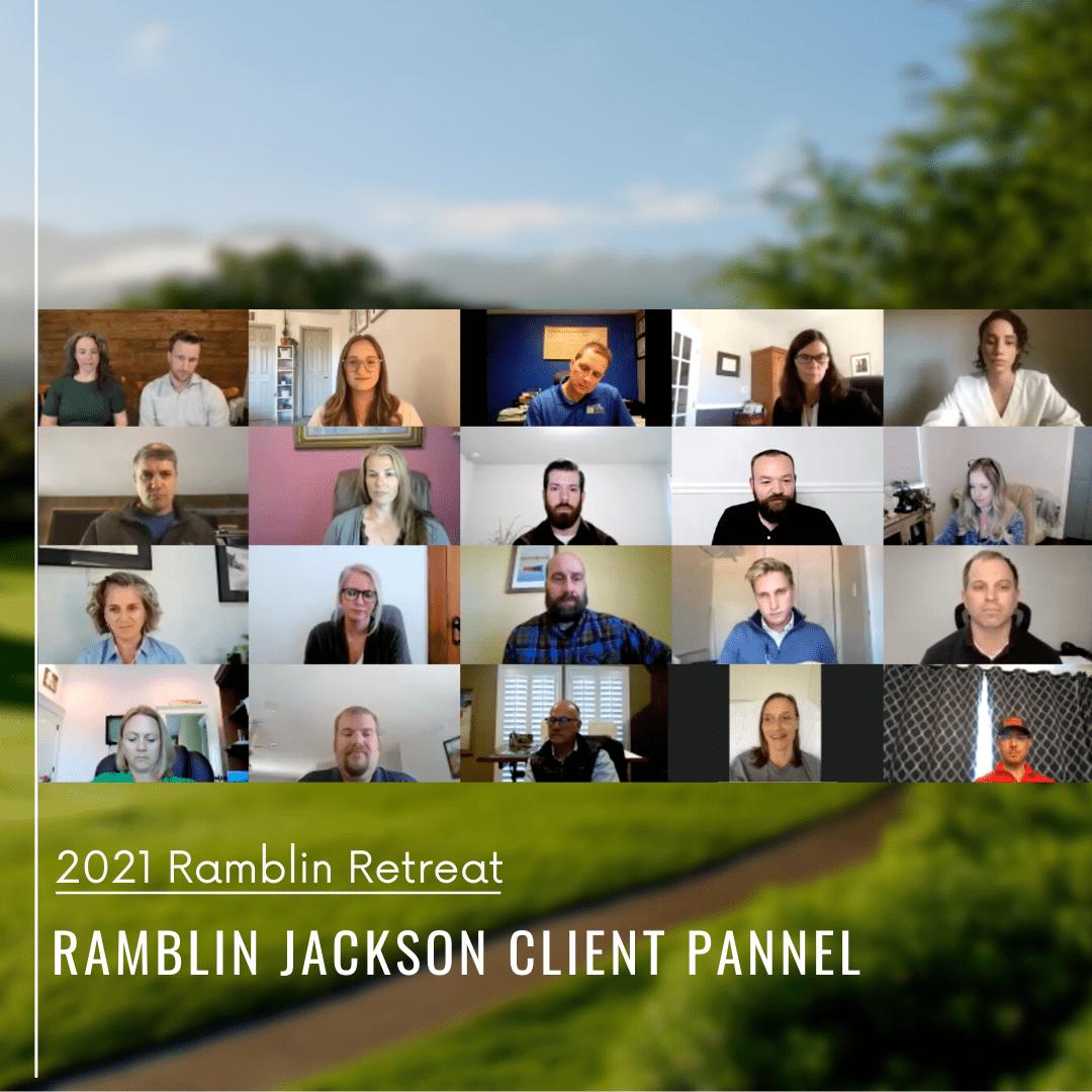 Ramblin Jackson Client Pannel
